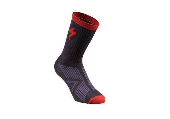 Ponožky Specialized pánské SL ELITE SUMMER SOCK BLACK/RED