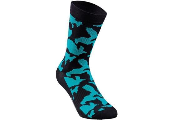 Ponožky Specialized pánské CAMO SUMMER SOCK BLK/TEAL