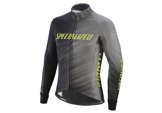 Bunda Specialized pánská Element RBX Comp Logo Faze Gry/Bl/Yel