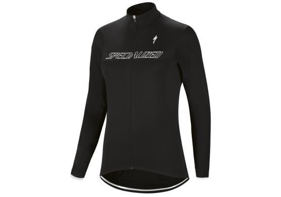 Dres Specialized dlouhý rukáv dámská Therminal RBX Sport Logo Blk/Wht