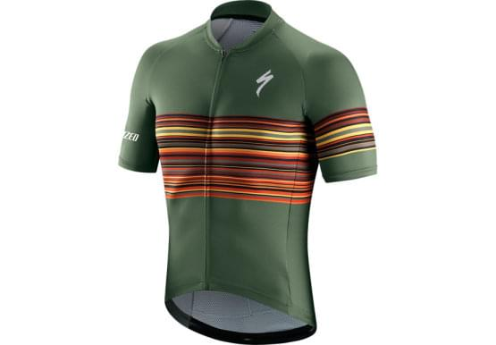 Dres Specialized krátký rukáv pánský SL Military Green