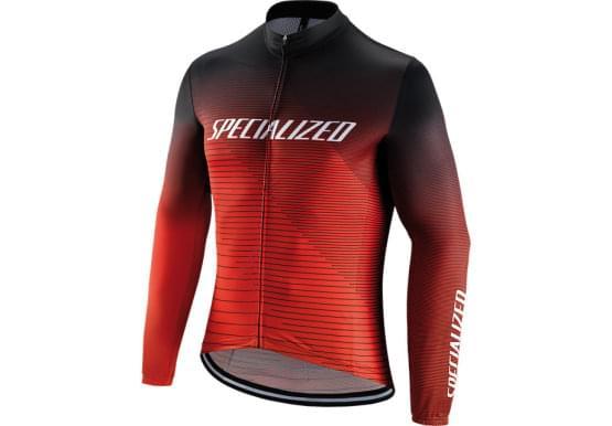 Dres Specialized dlouhý rukáv pánský RBX Comp Logo Team Blk/Rktred/Red
