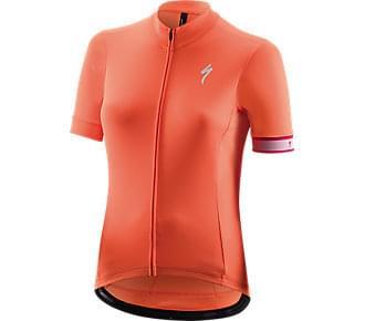 Dres Specialized krátký rukáv dámský RBX Sport Logo SS Jersey acid lava