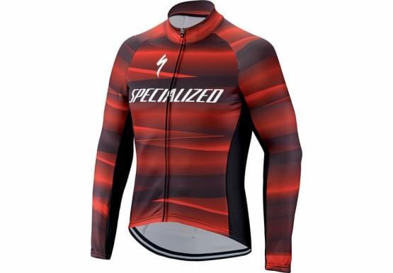 Dres Specialized pánský dlouhý rukáv Therminal SL Team Expert Blk/Red