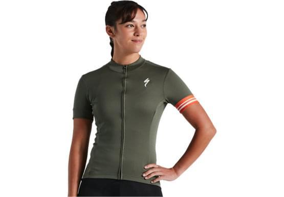Dres Specialized dámksý RBX Sport Logo SS Women's Jersey mltrygrn
