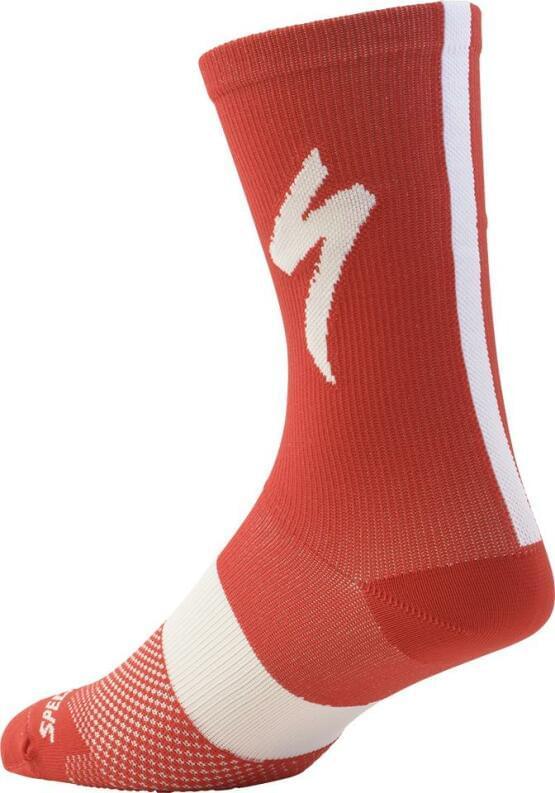 Ponožky Specialized SL TALL 2017 RED