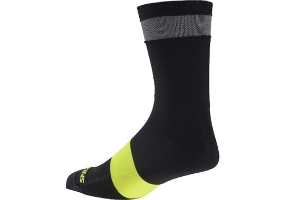 Dámské ponožky Specialized Reflect Tall Sock blk vel. XS/S