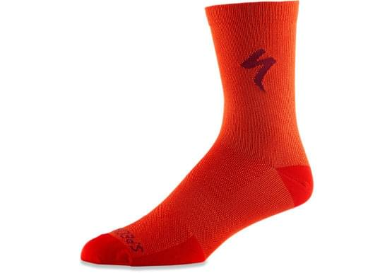 Ponožky Specialized SOFT AIR TALL SOCK RKTRED