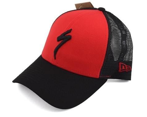 Kšiltovka Specialized Trucker snapback hat S logo 2019 Red/Blk