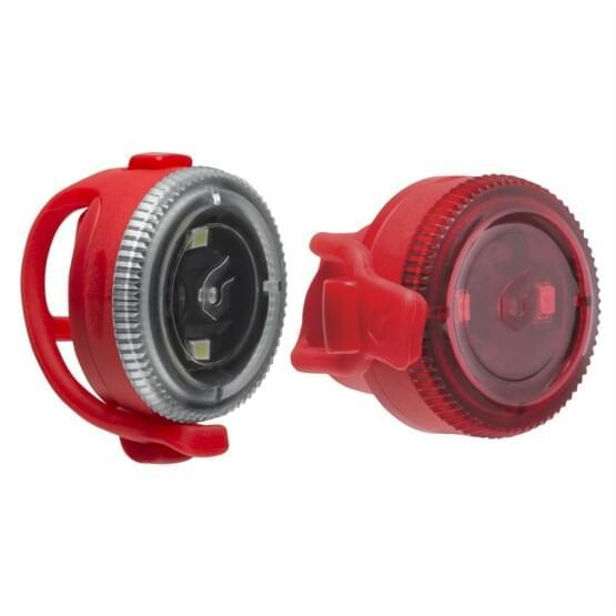 Světlo Blackburn přední + zadní Click (set) red