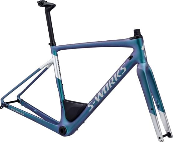 Rám Specialized S-works DIVERGE MEN OIL/LIGHT SILVER