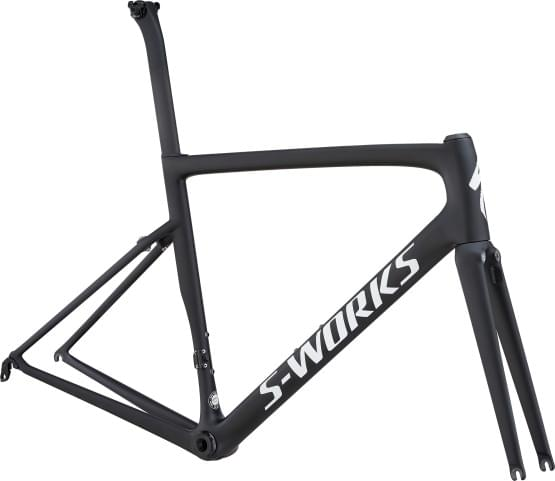 Rám Specialized S-Works TARMAC MONOCOAT BLACK/WHITE/CLEAN
