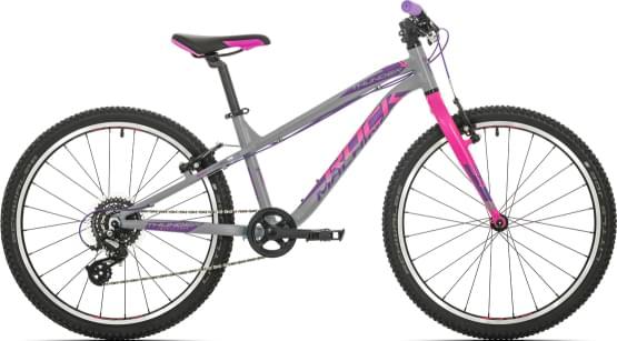 Dětské kolo Rock Machine Thunder 24 gloss grey/pink/violet
