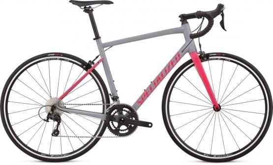 Silniční kolo Specialized ALLEZ ELITE 2019 COOL GRAY/HOT PINK