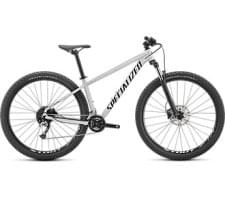 Horské kolo Specialized Rockhopper Comp 29 2x GLOSS METALLIC WHITE SILVER / SATIN BLACK