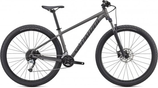 Horské kolo Specialized Rockhopper Comp 29 2x 2021 SATIN SMOKE / SATIN BLACK