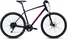 Trekingové kolo Specialized CROSSTRAIL Elite 2019 Cast Blue/Rocket Red/Rocket Red Reflective