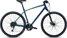 Trekingové kolo Specialized CROSSTRAIL SPORT Tropical Teal/Acid Mint/Cast Blue Reflective