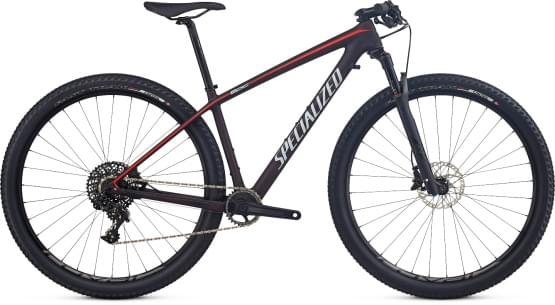 Horské kolo Specialized EPIC HT WMN EXPERT CARBON WC 29 2017 REDFLKTNT/NORDIC RED/BBY BLUE