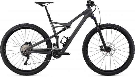 Horské kolo Specialized Camber FSR COMP CARBON 29 2X 2018 GRPH/FLAKESIL