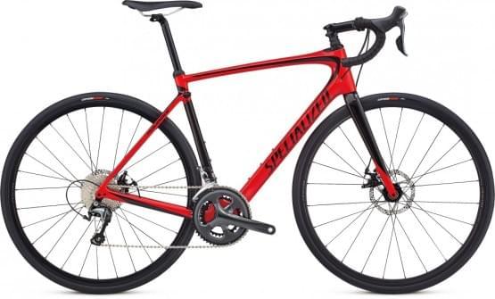 Silniční kolo Specialized Roubaix 2018 Gloss Flo Red / Tarmac Black