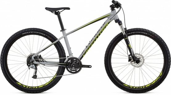 Horské kolo Specialized PITCH MEN COMP 27.5 2018 COOL GRAY/BLACK/HYPER GREEN