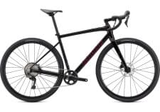 Silniční kolo Specialized DIVERGE COMP E5 2021 Gloss Tarmac Black/Satin Maroon/Chrome/Clean