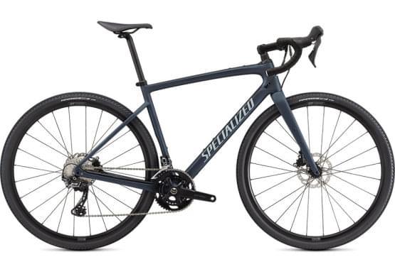 Silniční kolo Specialized DIVERGE Sport Carbon Cstblumet/Iceblu/Chrm