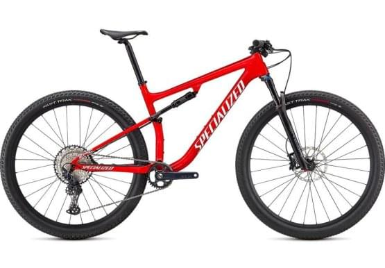 Horské kolo Specialized EPIC COMP 2021 GLOSS FLO RED / RED GHOST PEARL/METALLIC WHITE SILVER