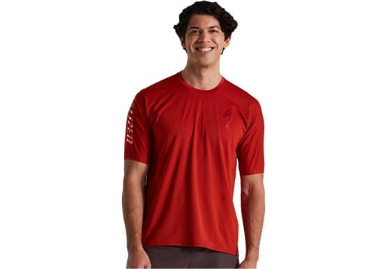 Dres Specialized TRAIL AIR JERSEY SS MEN REDWD
