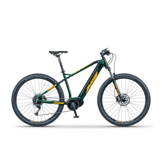 Horské  Elektrokolo Apache Tuwan MX5 deep green 2021