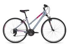 Korsové kolo KELLYS Clea 10 Grey Pink 2020