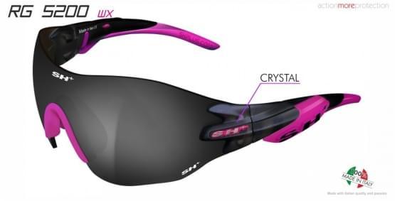 Brýle SH+ RG-5200 WX Crystal Graphite/Pink