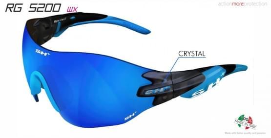 Brýle SH+ RG-5200 WX Crystal/graphite/Blue