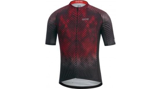 Gore dres pánský krátký rukáv C3 Energia Black/Red