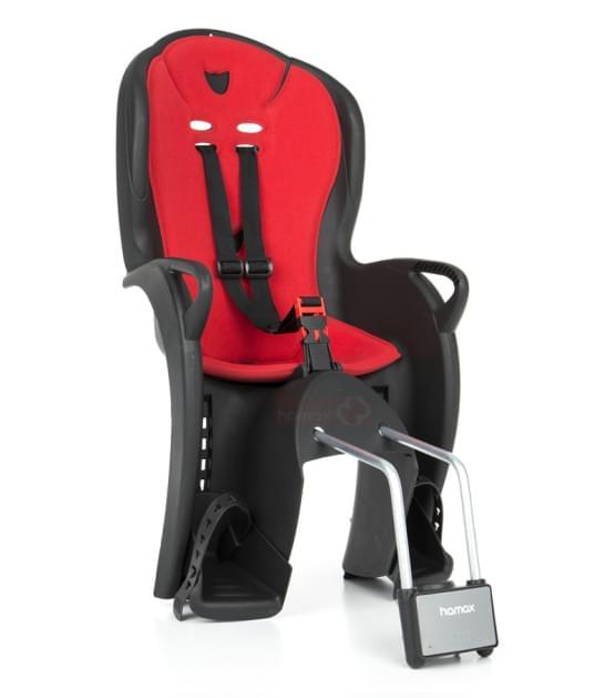 Dětská sedačka Hamax Kiss černá/červená