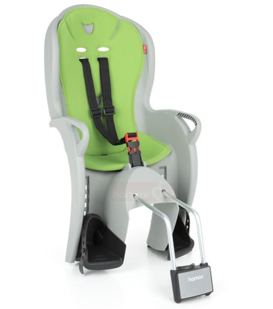 Dětská sedačka Hamax Kiss šedá/zelená