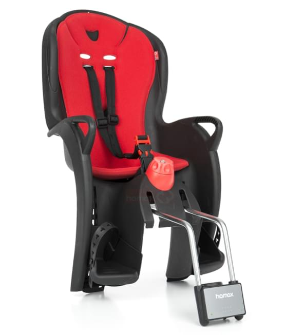 Dětská sedačka Hamax Sleepy černá/červená