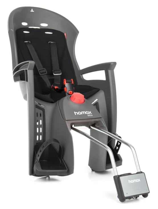 Dětská sedačka Hamax Siesta šedá/černá