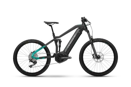 Elektrokolo Haibike AllMtn 1 i630Wh 11-r. Deore 2021 HB YSTS antracit/tyrkysová