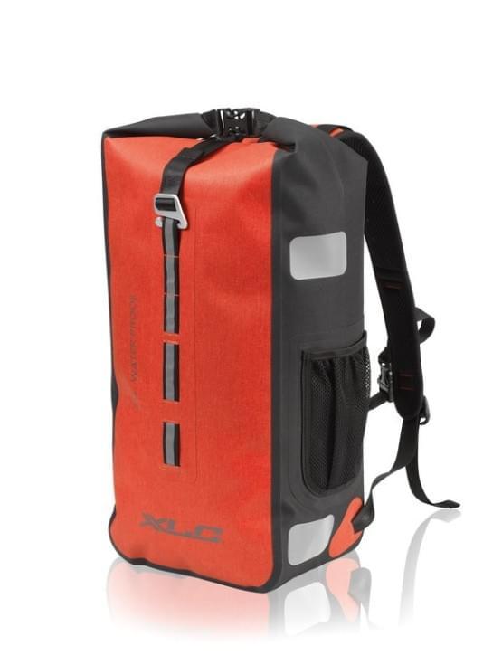 XLC cestovní batoh voděodolný červená 61x16x24cm