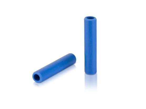 XLC gripy Silikon GR-S31 130mm, tmavá modrá, 100% silikon