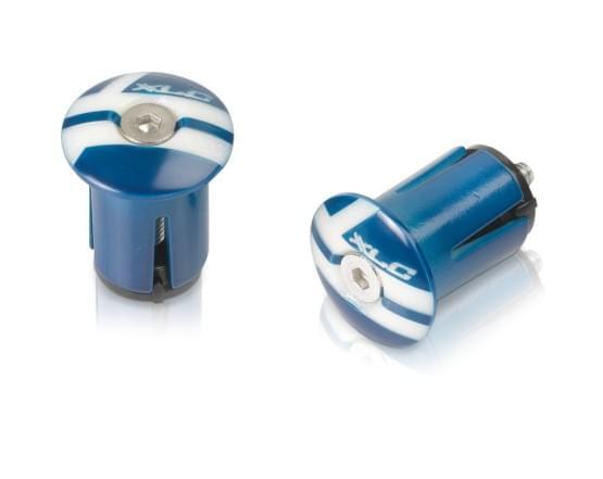XLC Zátky do řidítek GR-X02 modrá 2501599009