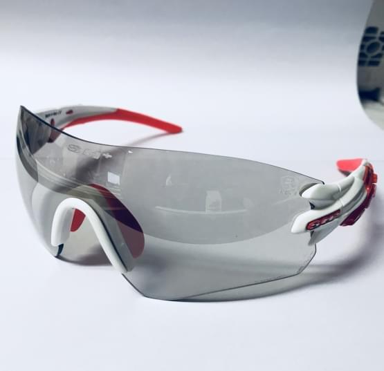 Brýle SH+ RG-5200 Reactive Flash White/Red