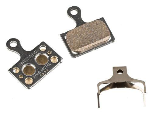Brzdové destičky Shimano K04S Metal, kovové silniční