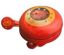 Cyklistický Zvonek KELLYS Bell 60 Kids Red