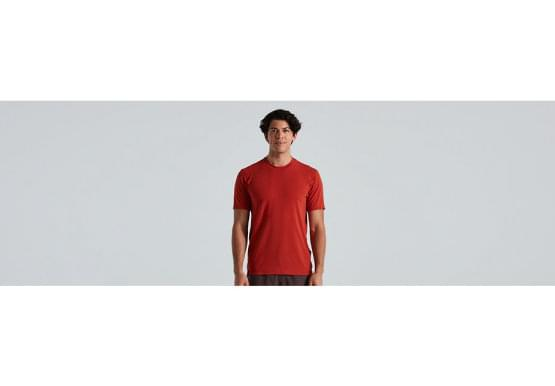 Dres Specialized Trail Short Sleeve Jersey redwd
