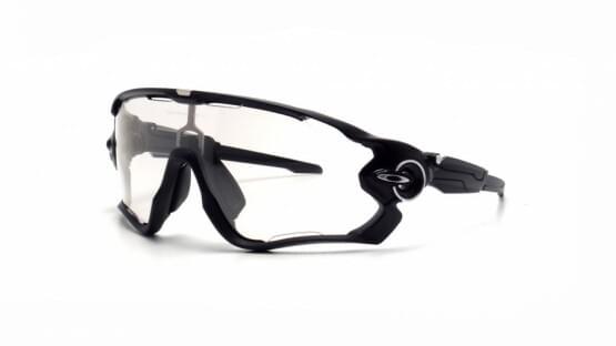 Brýle Oakley JAWBREAKER POLISHED BLACK CLEAR BLACK IRIDIUM PHOTOCROMATIC