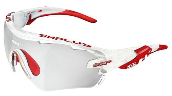 Brýle SH+ RG-5100 REACTIVE FLASH White/Red