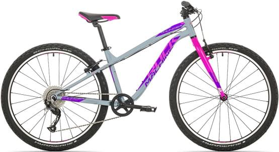 Dětské kolo Rock Machine Thunder 26 (XS) gloss grey/pink/violet